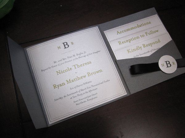 Tmx 1334023634266 IMG0696 West Chester wedding invitation
