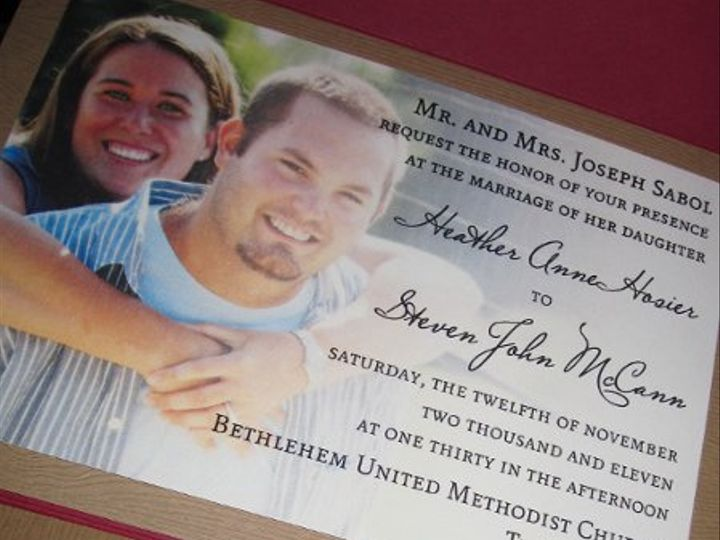 Tmx 1334854000178 IMG0585 West Chester wedding invitation