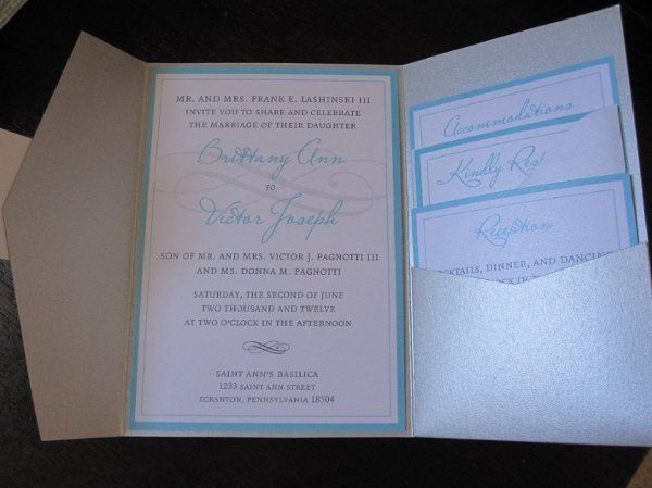 Tmx 1334854085097 IMG0951 West Chester wedding invitation