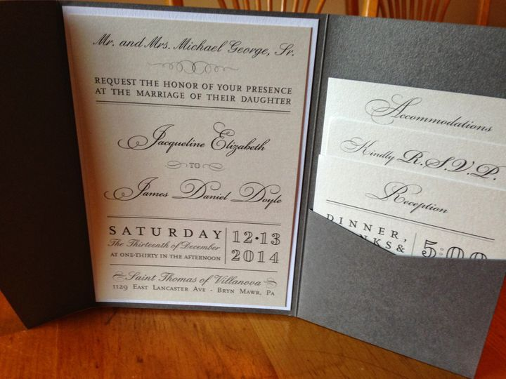 Tmx 1415301775990 Img0688 West Chester wedding invitation