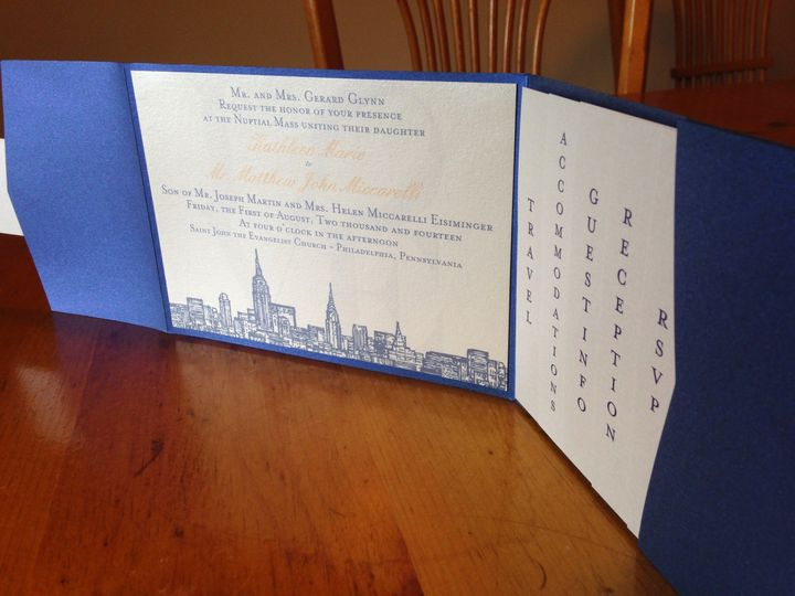 Tmx 1415301795786 Img0690 West Chester wedding invitation