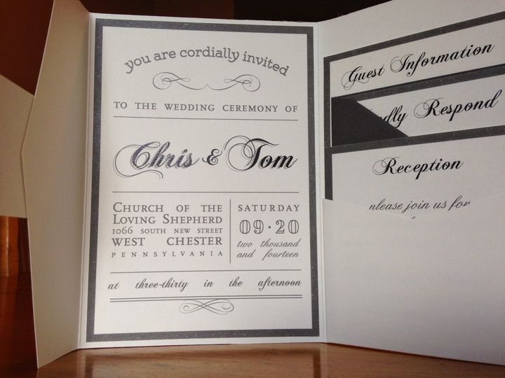 Tmx 1415301813894 Img0693 West Chester wedding invitation