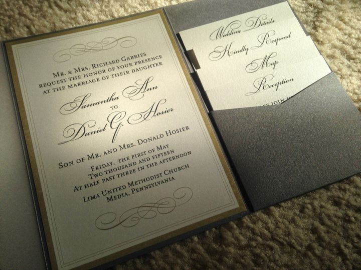 Tmx 1444613426712 Img1002 West Chester wedding invitation