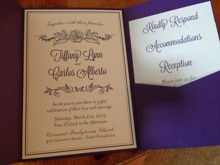 Tmx 1444613516435 Img13281 West Chester wedding invitation