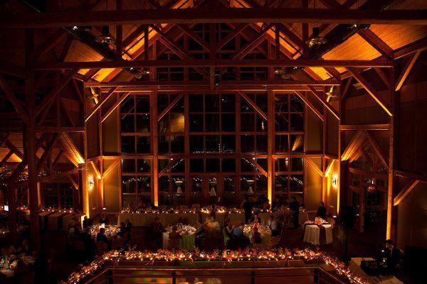 Warm indoor lights