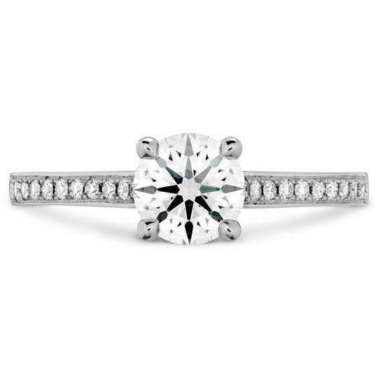 #perrysbride #engagementring #heartsonfire #diamond