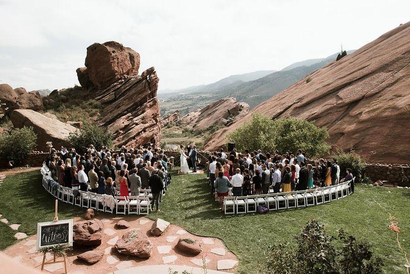 Trading Post Backyard Ceremony