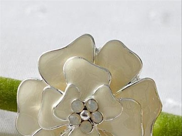 Tmx 1235428079514 Blossomflowerring Ivory Santa Monica wedding jewelry
