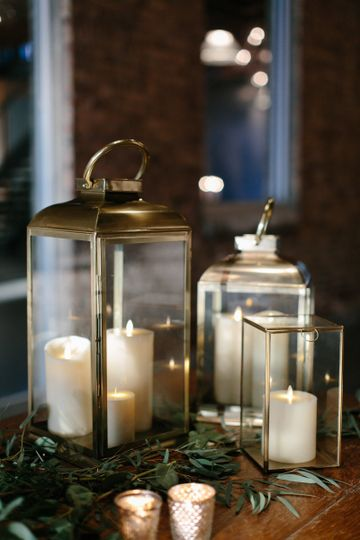 Lantern and candle lights