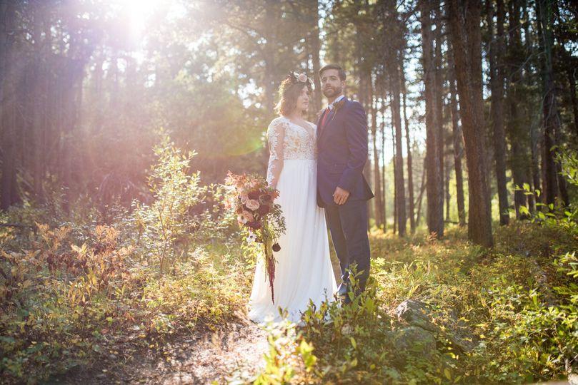 Montana elopement