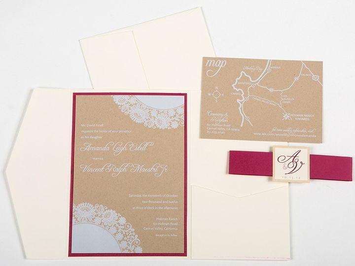Tmx 1422682889856 Maestri Invitesmainimage Poway wedding invitation