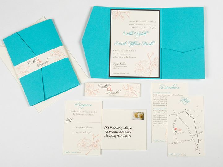 Tmx 1422682919416 Murillo Invitesmainimage Poway wedding invitation