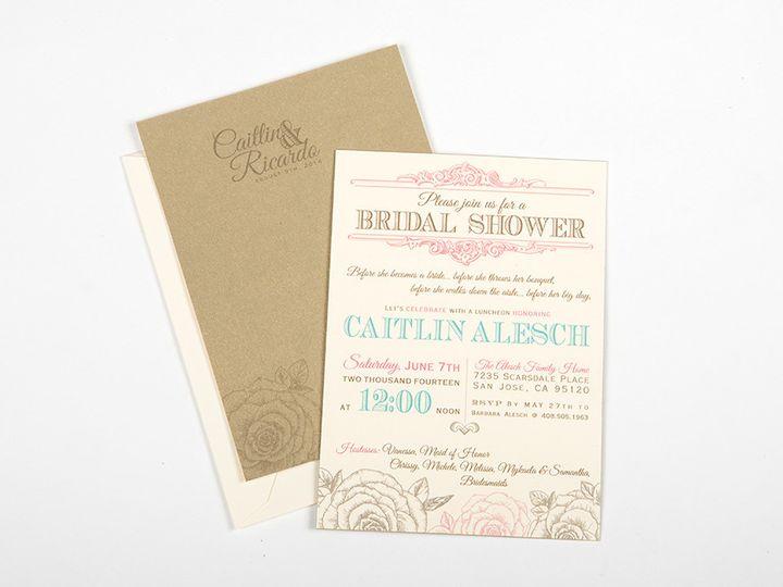 Tmx 1446743572542 Aleschbridalshowermainimage Poway wedding invitation