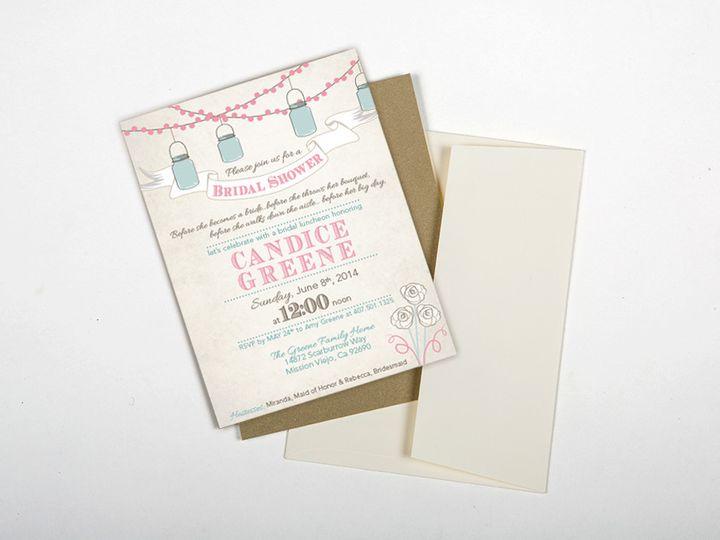 Tmx 1446746124685 Greenebridalshowermainimage Poway wedding invitation