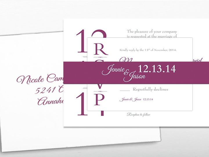 Tmx 1446746966335 Degraffenreid Invitesmainimage Poway wedding invitation