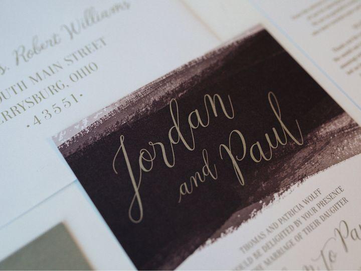 Tmx 1512740407659 Jordan Paul Wedding 1 Toledo wedding invitation