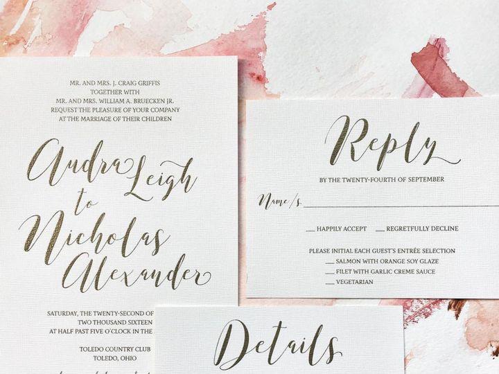 Tmx 1512740441751 Ucd Invitation Toledo wedding invitation