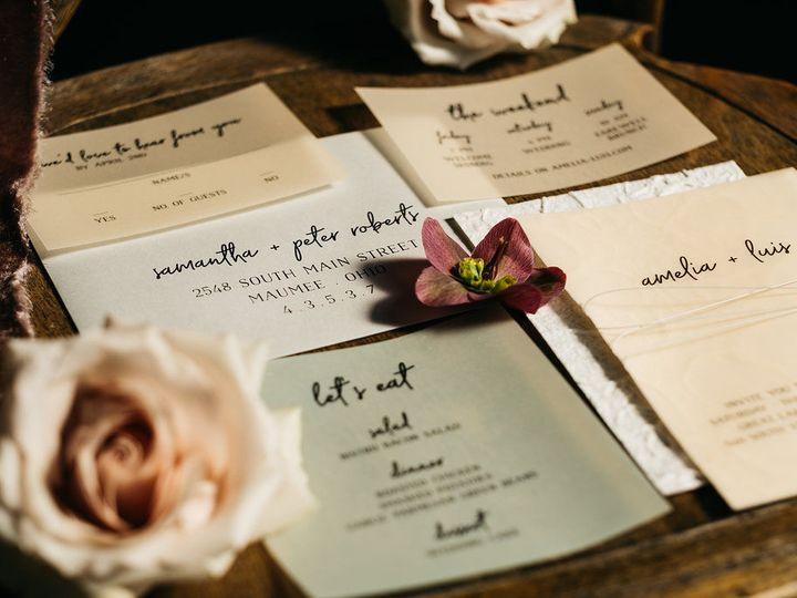 Tmx 1528814436 C6c9f1740c54e1c4 1528814435 3478cec1a9b98b09 1528814427973 4 041218 Great Lakes Toledo wedding invitation