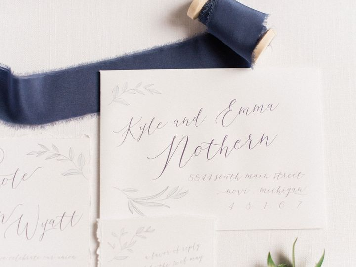 Tmx 1528814517 19bdb96926029cfa 1528814514 D027c1cc1cd42572 1528814508271 7 Old Detroit Weddin Toledo wedding invitation