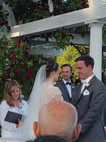 Sarah gutmann officiant long island officiant sound for Wedding officiant long island
