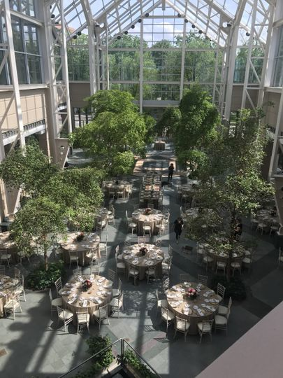 The Wintergarden By Monroe 39 S Venue Rochester Ny Weddingwire