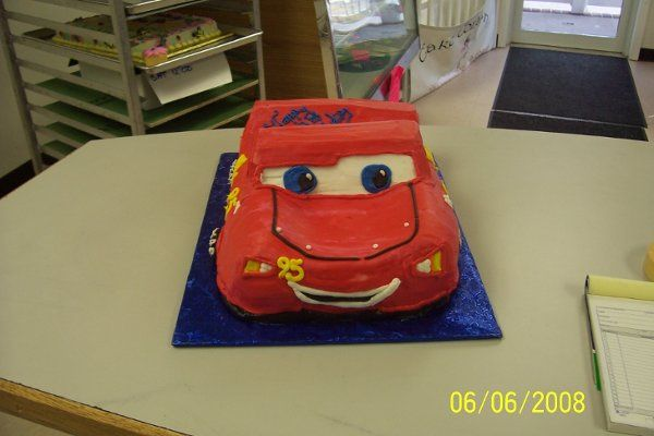 Another view Lightning McQueen