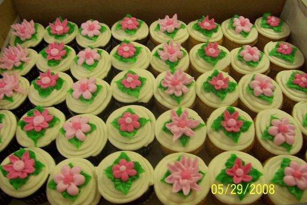Cupcakes like this are very popular