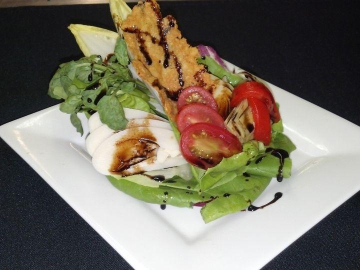 Tmx 1432996560917 Salad Bibb Radicchio Nest Vinagrette 2 Philadelphia, Pennsylvania wedding venue