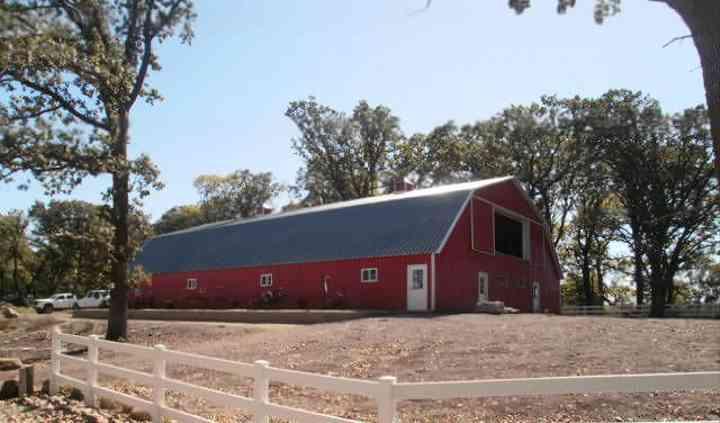 Rustic Oaks Barn