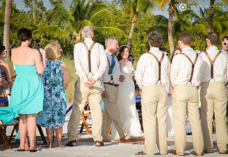 Wedding at Smathers Beach