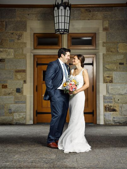 Boston College wedding