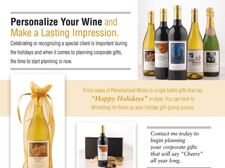 Tmx 1445103794193 Personalized Wine Oak Grove wedding favor