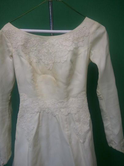 '60s Era Gown B4 Restoration