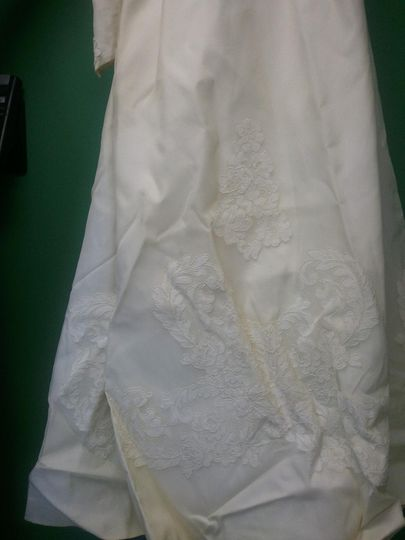 Vintage Gown After Restoration