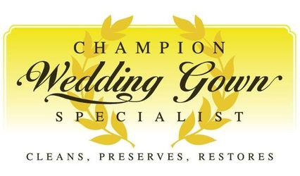 Champion Wedding Gown Specialist - Wedding Gown Cleaning, Preservation, Restoration and Alterations 1