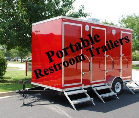 Portable Restroom Trailers are the best outdoor event aider!