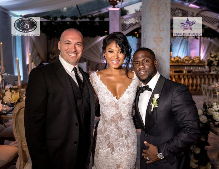 Evan Tyler Bandleading at Kevin Hart's wedding to Eniko Parrish!