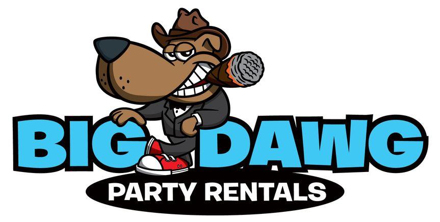 big dawg party rentals logo we