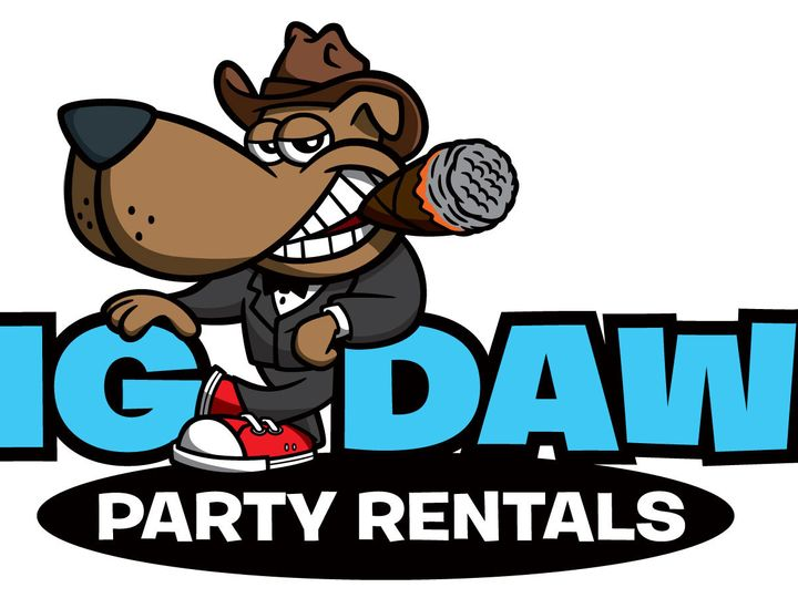 Tmx 1393782715125 Big Dawg Party Rentals Logo We Brooklyn wedding rental