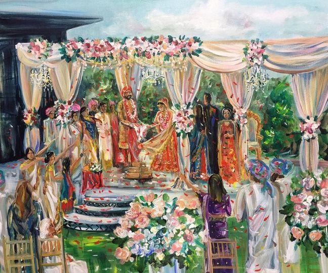 A picture of a pavilion