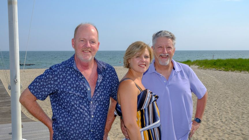 Accent trio at Wychmere Beach