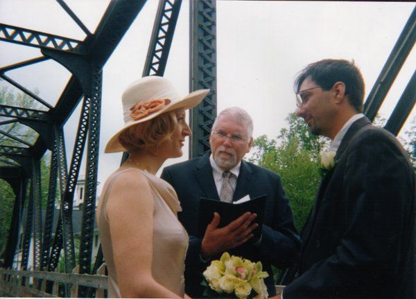 The bridge to a new life as one.