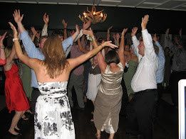 Raise the roof! #1 Rule is to keep the dance floor cookin' once the dancing starts!