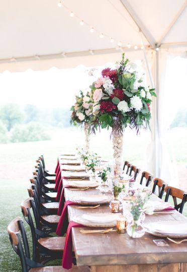Reception Farm House Table