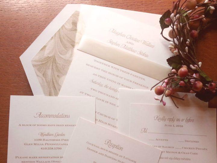 Tmx 1475259391495 2016 03 22 13.36.38resized1 West Chester, Pennsylvania wedding invitation