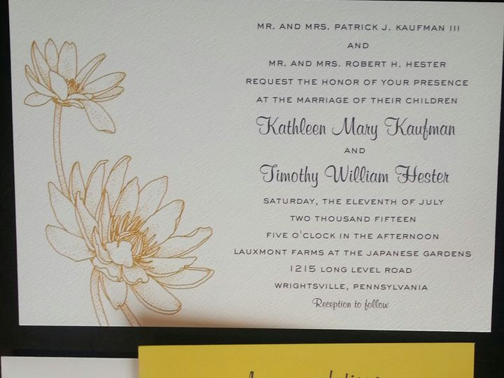 Tmx 1475259478574 20150603101038 1 West Chester, Pennsylvania wedding invitation