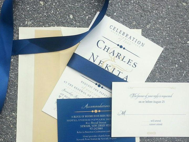 Tmx 1475259660570 20160114111058 1 1resized West Chester, Pennsylvania wedding invitation