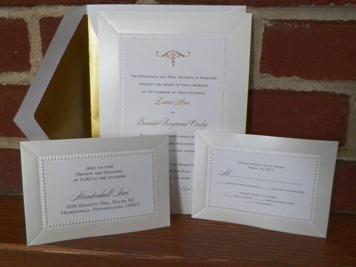 Tmx 1484854059653 1009737 West Chester, Pennsylvania wedding invitation