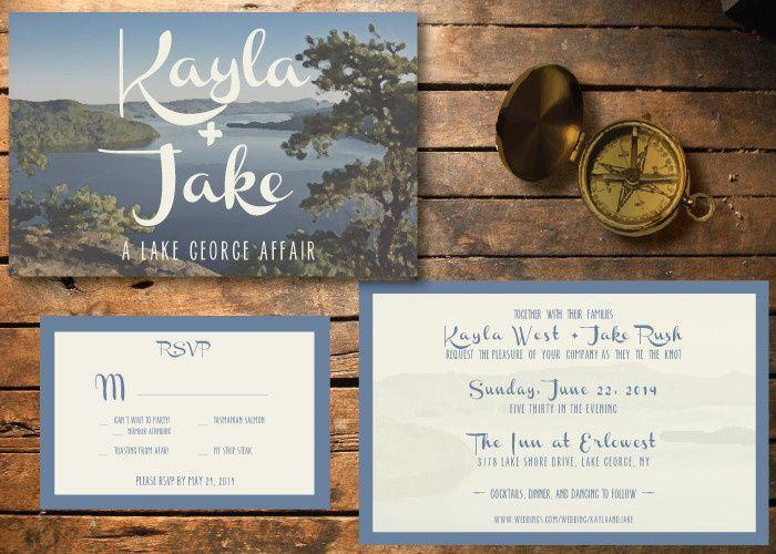 lake george invite package