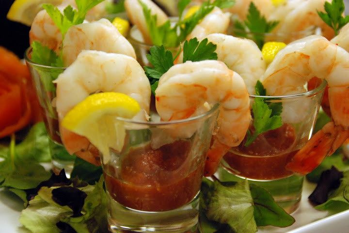 cocktail shrimp shooters
